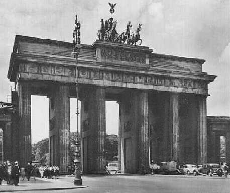 The Brandenburg Gate 1930