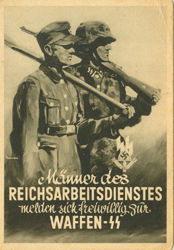 1938 Poster relating to the Work Programme