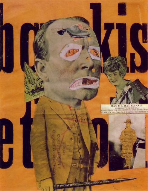 Example of Dada Movement artwork, by Hausmann circa 1920
